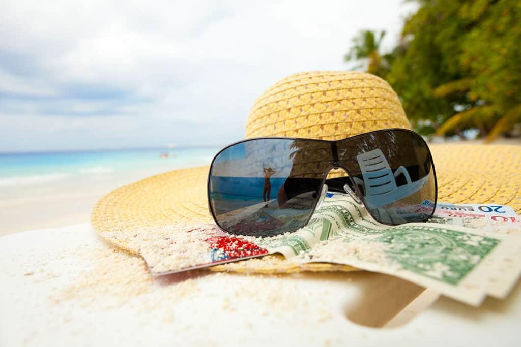 Strand und Geld